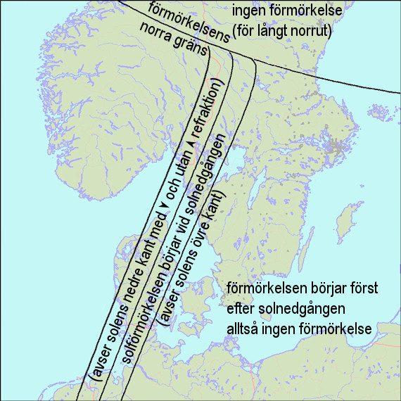 2017-08-21 Förmörkelseområdets begränsning över norra Europa