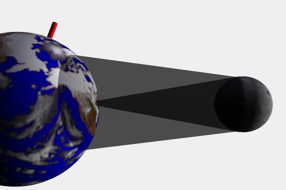 2017-08-21 Månens halv- och helskugga träffar jorden