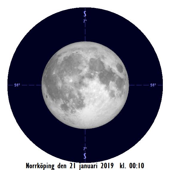 2019-01-21 kl. 00:10 Månen som störst (sedd från Norrköping)
