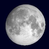 månens fas idag